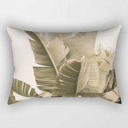 Modern Green Rectangular Pillow