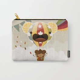 Chestnut Girl Balloon!!! Carry-All Pouch