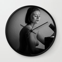Iris's box Wall Clock