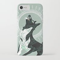 saga iPhone & iPod Cases featuring Saga of Lord Emil by CanisAlbus
