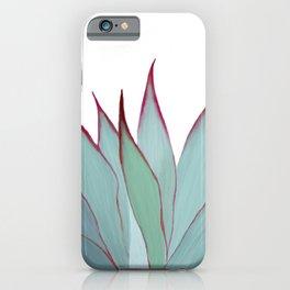 Elegant Agave Fringe Illustration iPhone Case