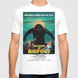 Revenge of Bigfoot, vintage horror movie poster T-shirt