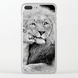 A Fathers Love Clear iPhone Case