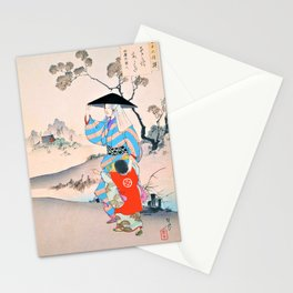 Mizuno Toshikata - Top Quality Art - Walking Stationery Cards