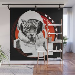 No One Can Hear You Meow in Space Wall Mural