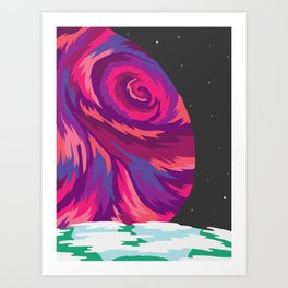 New Moon Art Print