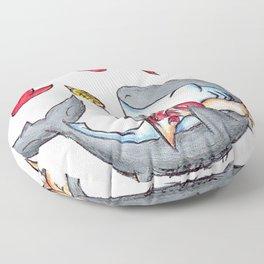 Lobstah Dinnah Floor Pillow