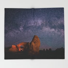 Arches National Park Panorama Throw Blanket