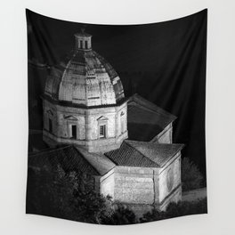 shot on film .. tuscan church Wall Tapestry