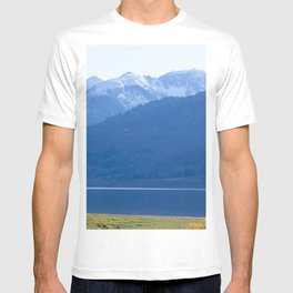 Blue Snow Capped Mountains T-shirt