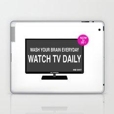 Watch TV daily Laptop & iPad Skin