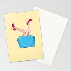 BAG & HIGH HEELS Stationery Cards