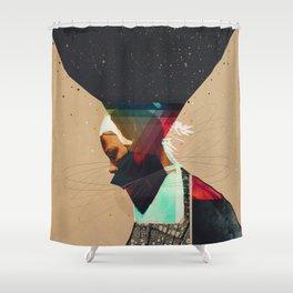 Beirut Sky Shower Curtain