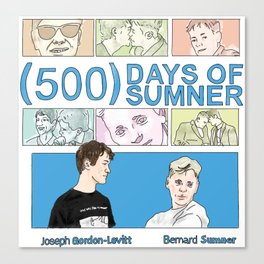 500 Days of Sumner Canvas Print