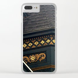 Old Brass With Top Gold - Nailed It Clear iPhone Case