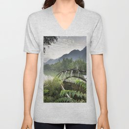 Asia Landscape Unisex V-Neck