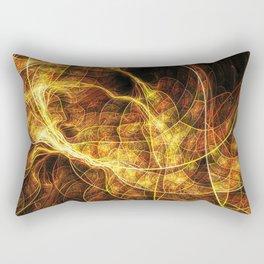Fall Leaf Textures Rectangular Pillow