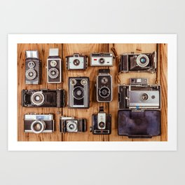 Photographer's History Art Print