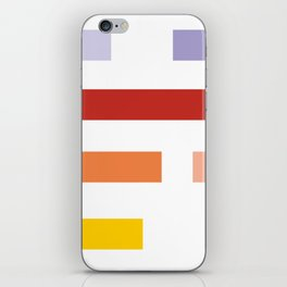 Colored lines #society6 #decor #buyart #artprint iPhone Skin