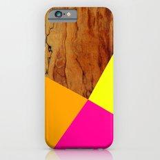Wooden Colour Blocking Slim Case iPhone 6