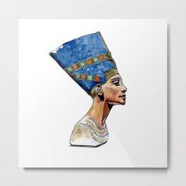 Nefertiti Bust  Metal Print