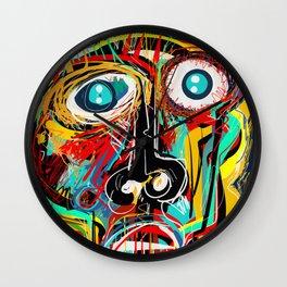 The Scream Street Art Graffiti Wall Clock