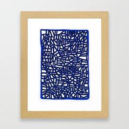 Landforms Series - StoneRoses #13 Framed Art Print