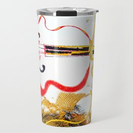 Immersed in Bach Partitas    by Kay Lipton Travel Mug