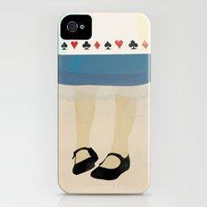 Alice In Wonderland iPhone (4, 4s) Slim Case