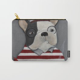 Waldo the Boston Terrier Carry-All Pouch