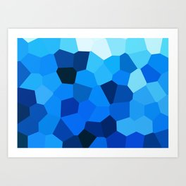 Sea cells  Art Print
