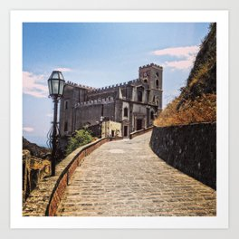 The Church of Apollonia and Michael Art Print