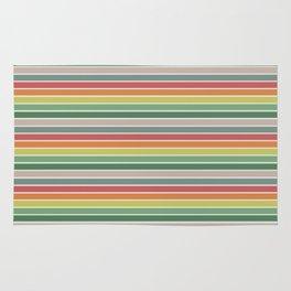 Vintage stripes Rug