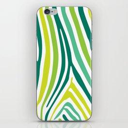 Zebra Print iPhone Skin