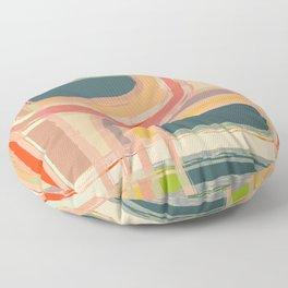 Abstract Windows Floor Pillow