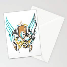 Valkyrie Cat Stationery Cards