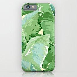 Banana leaf grandeur iPhone Case