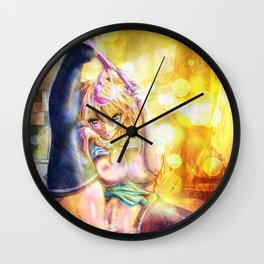 Spread It Out Wall Clock