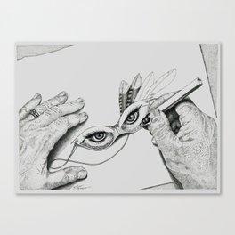 Tory's Eyes Canvas Print