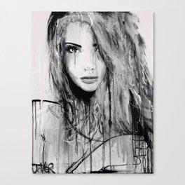 rumour Canvas Print