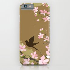 Cute Birds and Cherry Blossoms iPhone 6s Slim Case