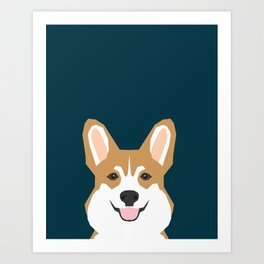 Teagan - Corgi Welsh Corgi gift phone case design for pet lovers and dog people Kunstdrucke