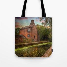 Coalport Bottle Kiln Sunset Tote Bag