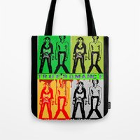 true blood Tote Bags featuring True Romance by Terrestre