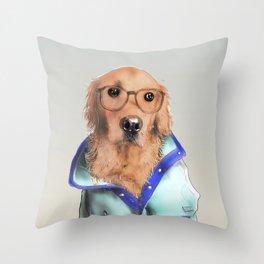 Hey Buddy Throw Pillow