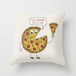 Slice of Life Throw Pillow