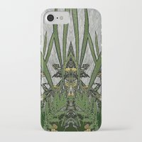 plants iPhone & iPod Cases featuring Plants by Gun Alfsdotter