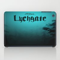 book cover iPad Cases featuring Lychgate Book Cover 2.0 by SireneEntertainment