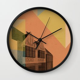 Pape Danforth Branch Wall Clock