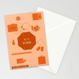 no.4 klaus Stationery Cards